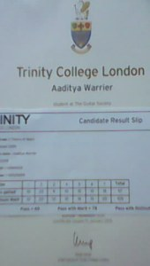 Aaditya Warrier Grade II