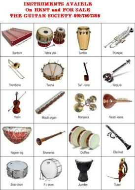 INSTRUMENTS AVAILABLE FOR SALE